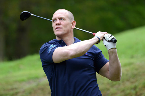 Mike Tindall - Celebrity Golf