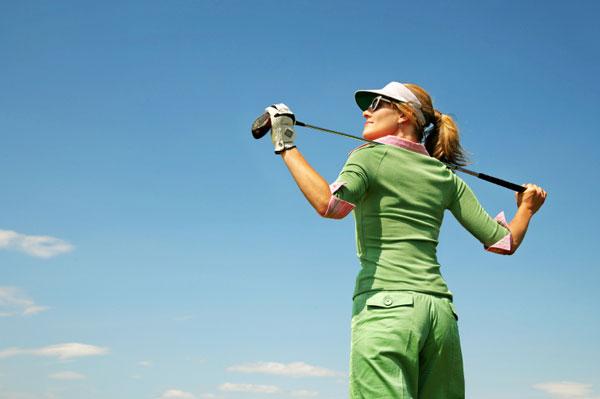 woman golf